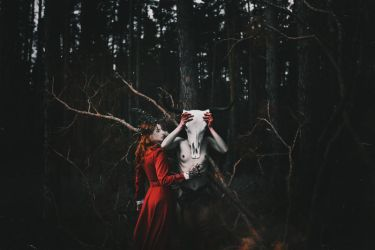 The gloomy forest tale by NataliaDrepina