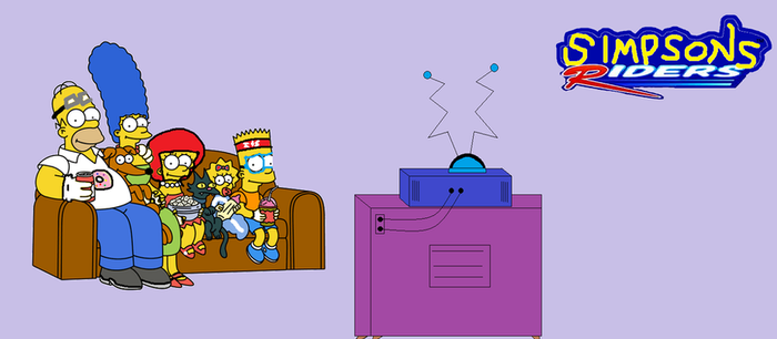 Simpsons Riders by Ghostbustersmaniac