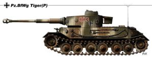 Pz BfWg Tiger P by nicksikh