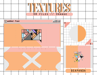 Textures 048 // Orange (Serendipity) by BEAPANDA