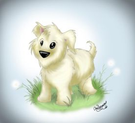 Fuzzy Pup by Anamated