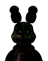 Five Nights at Freddy's - Phantom Toy Bonnie[Edit] by Christian2099