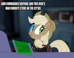 Commander Applejack by Hakar-Kerarmor