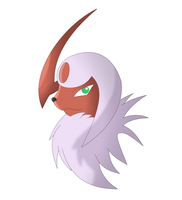 Shiny Absol by Sandstormer