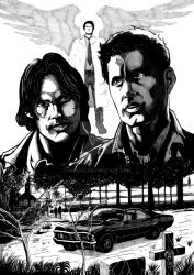 THE WINCHESTER BROTHERS - Cpia (2) by moaniz