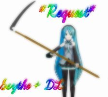 MMD - REQUEST - Scythe + DL by RoseBeri