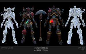 Judge Dread.Construction shot. by FirstKeeper