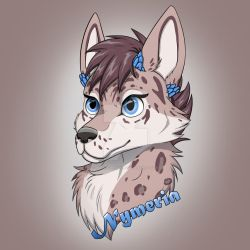 Nymeria badge by Husky-Whisky