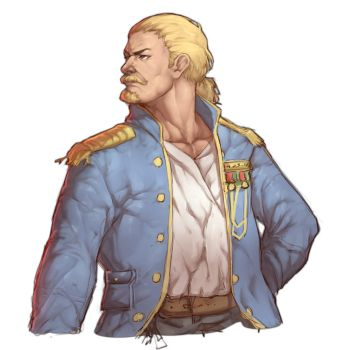 Navy Captain by Mick-cortes