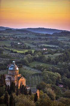 Sunset Over Montepulciano 3 by CitizenFresh