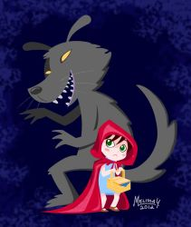 Red and Wolf by Remybuu