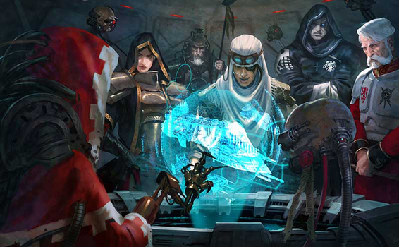Praetoria war council by warhammer40kcampaign