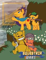 Equestrian Wars - Yellow Comet by digital-socrates