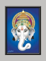 Ganesha Face by satishverma