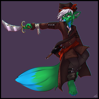 Pirate commission by MeepinBloodeh