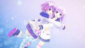 The Nep Sisters by Pumpkin-Pai
