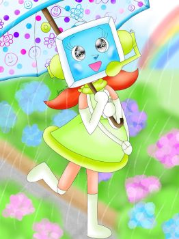 A walk after the rain [Pop'n Music] by the01angel