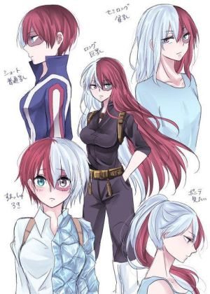 Fem!Todoroki Shoto X M!Reader FULL (BnHA) by TaranThyGod on DeviantArt