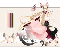 .:CLOSED:. Adoptable - Chidus Species 08 by chisei-adopts
