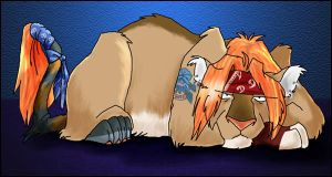 Axl Rose Lion pic by Ravendyn