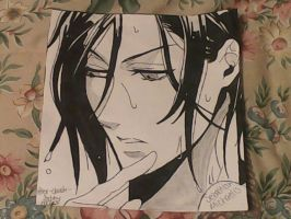 Sebastian Michaelis: Wet N Wild by Alex-Claude-Sebby