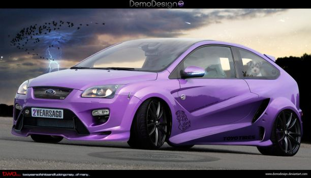 Ford Focus Sexy Bitch by DemoDesign