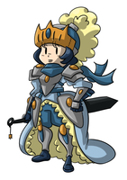 Queen Knight by TheBrave