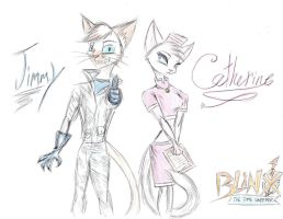 Jimmy and Catherine by QuinnthePrincess