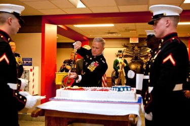 Marine Corps Cake :D by GeneralTate