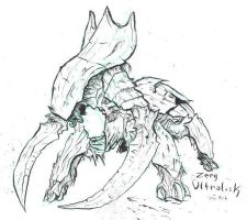 Starcraft - Zerg Ultralisk by atryl
