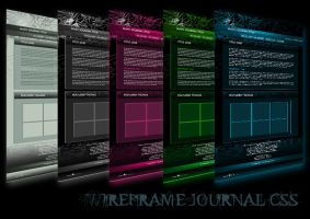 Wireframe Journal CSS FREE UPDATED 2014 by Elandria
