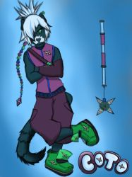 Coto The Night Ferret by marcus3000
