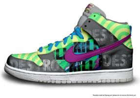 nike high tops6 by CalledTheBeast