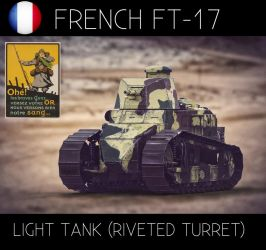French Ft-17 by sanchiesp