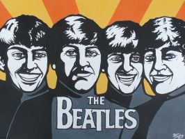 The Beatles by darlinginc