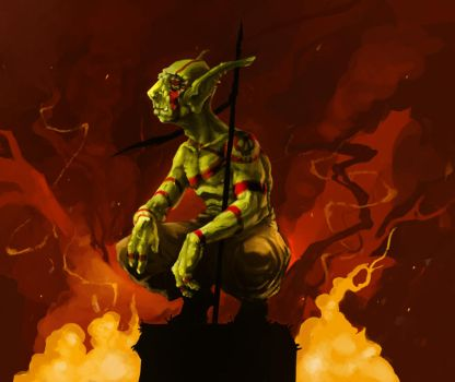 Goblin Scout by DINO-SAWR