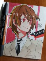 Day 350 Akechi by TomatoStyles