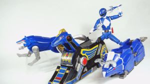 Mighty Morphin Power Rangers - Blue Zord Power! by Infinitevirtue