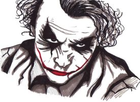 Day 4: Why So Serious? by lubyelfears