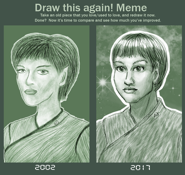 Draw This Again - T'Pol by ErinPtah