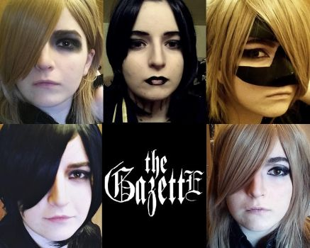 the GazettE Cosplay by izayaxshizuchan