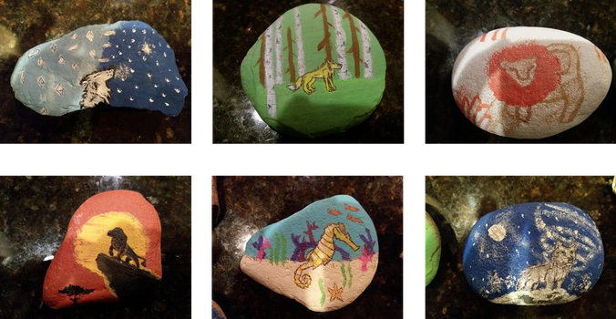 Rock Paintings 1-5-18 by Erick-the-Druid
