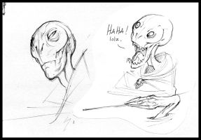 Sketchbook -  HP Voldemort by nicholaskole