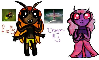 insect inspired adoptables *open* by NayaCat