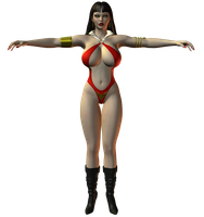 Preview: Vampirella Revised by willdial