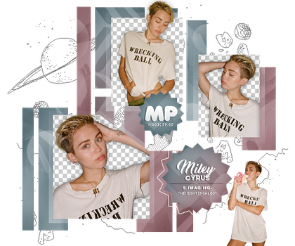 PACK PNG 1012| MILEY CYRUS. by MAGIC-PNGS