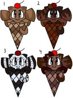Chocolate ICK Adopts by Katttty920