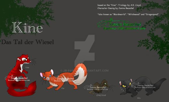 Kine -Characters by JB-Pawstep