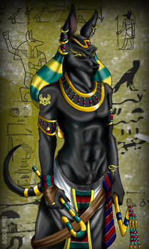 Anubis by InuIrusa-chan