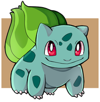 #001 Bulbasaur by EmeraldPotato